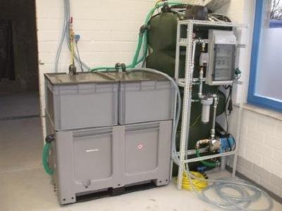 hydria bio x 750 f r portalwaschanlagen mit brauchwasservorlagetank 750 liter. Black Bedroom Furniture Sets. Home Design Ideas